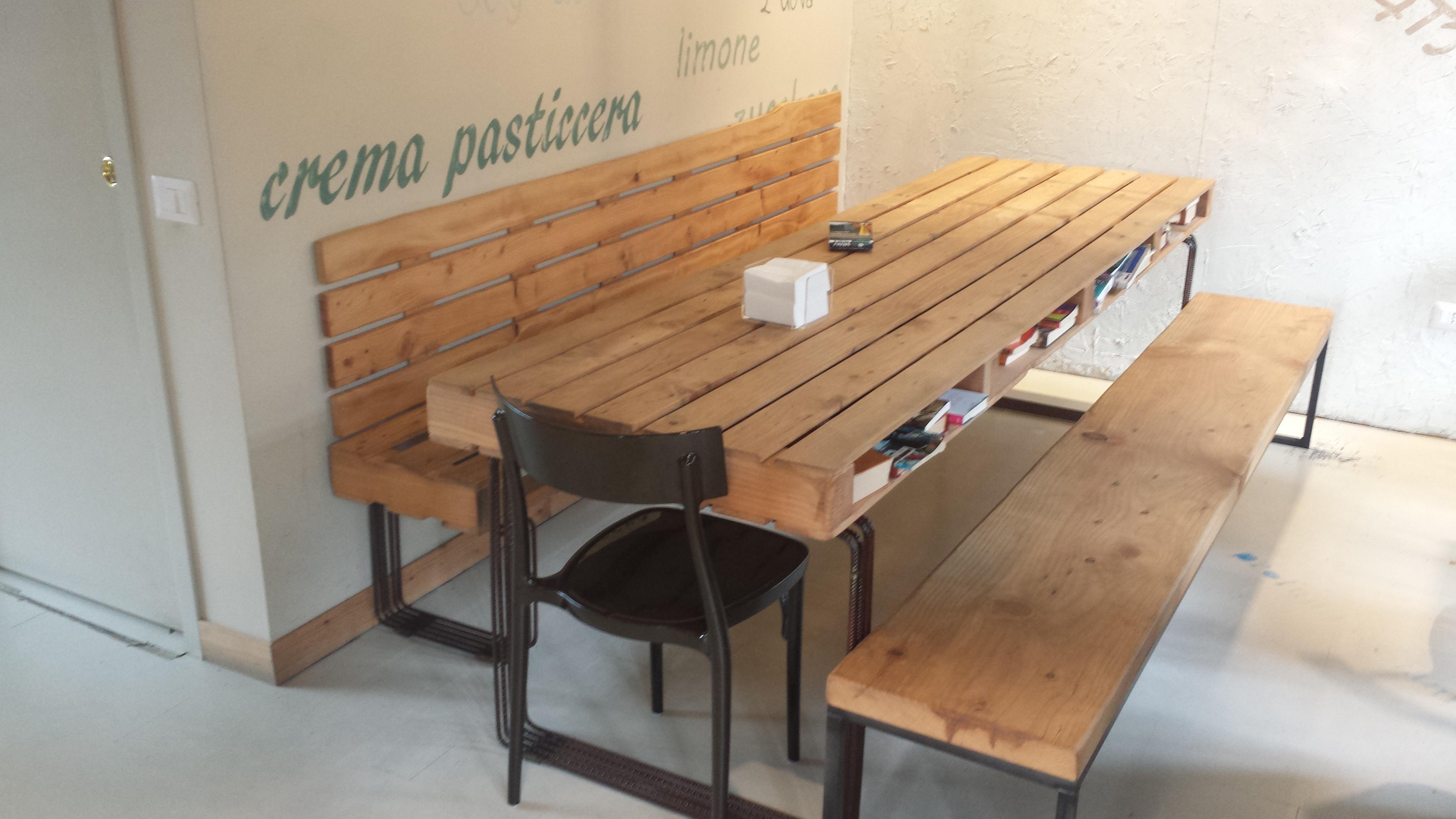 Tavoli con bancali di legno iz72 regardsdefemmes for Pallet idee arredo