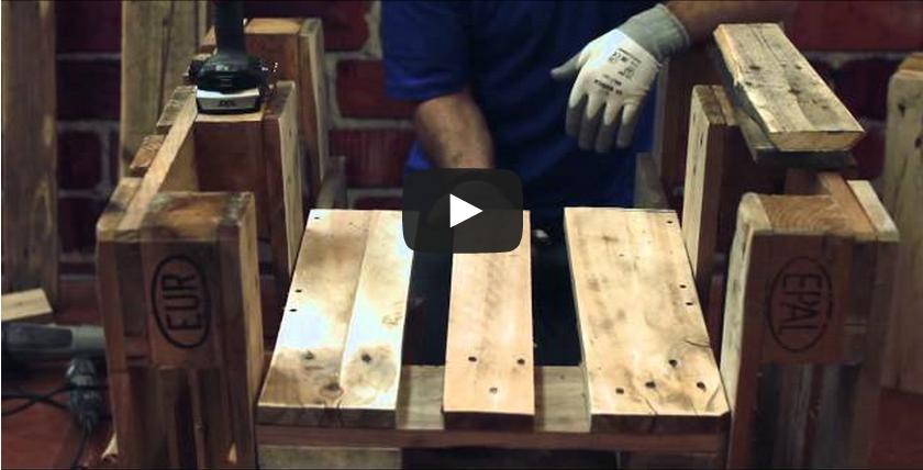 Mobili Con Pallet Tutorial : Video esempi di mobili realizzati con pallet di deni niagara