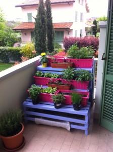 Realizzare un Orto Sul Balcone con Pallet riciclati
