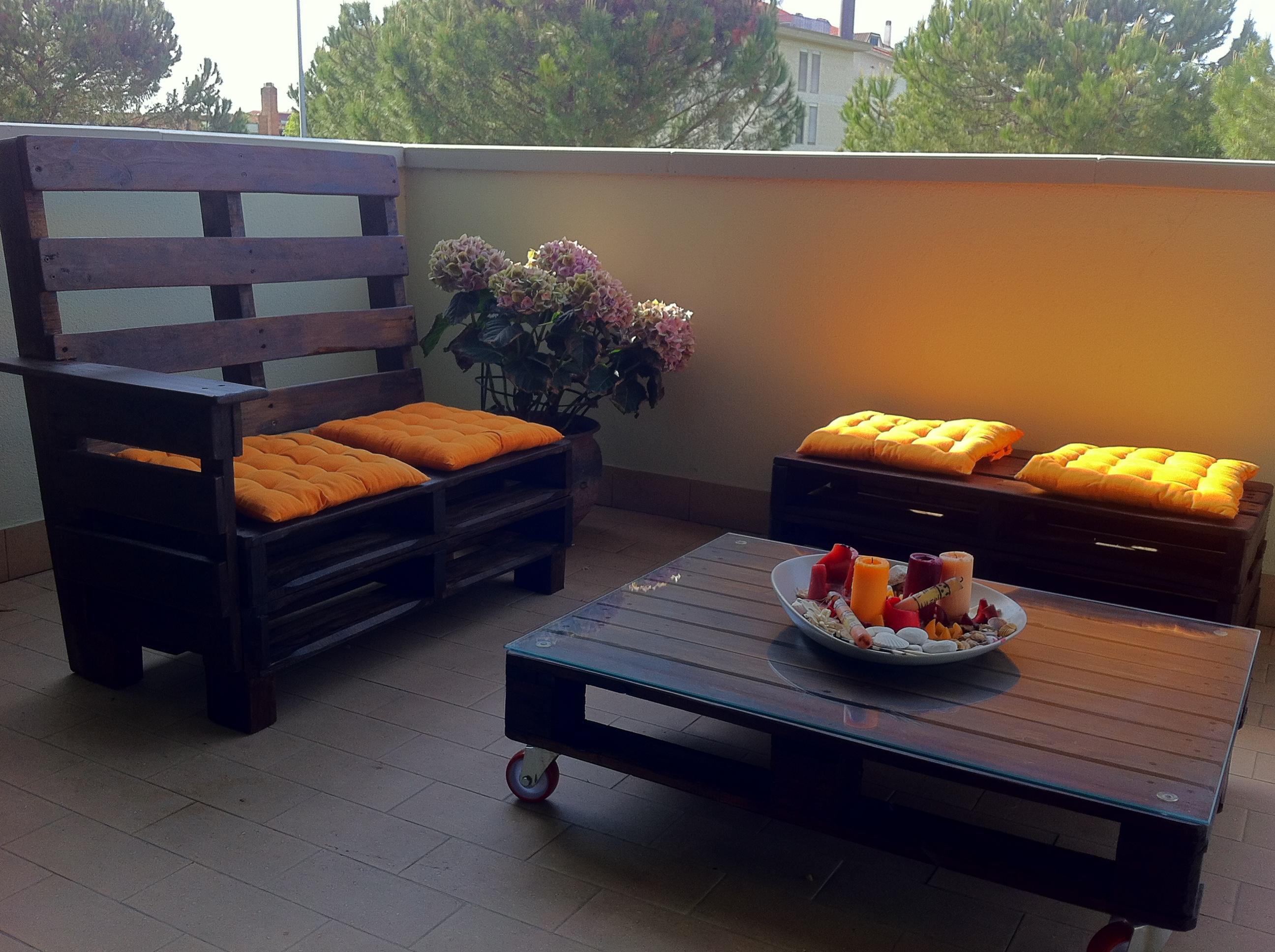 Riciclo bancali giardino qx19 regardsdefemmes for Pallet arredo giardino