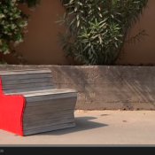 Costruire una poltroncina con una tapparella   Video Tutorial