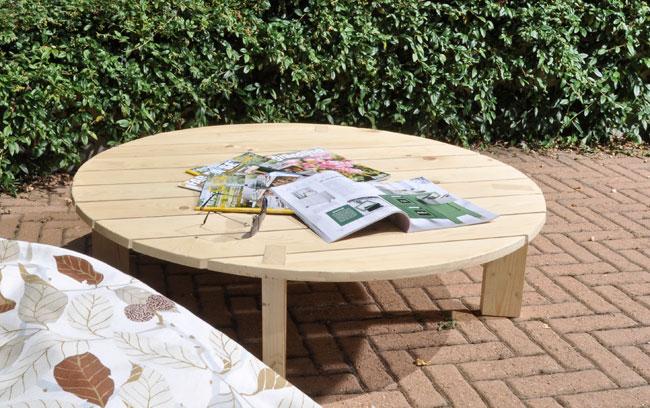 Costruire un tavolino da esterno con i bancali blog di - Costruire un tavolo in legno per esterno ...