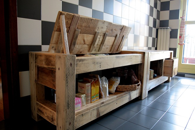 Mobile da cucina blog di deni niagara for Pallet idee arredo