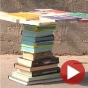 Costruire un tavolino con vecchi libri | Video Tutorial