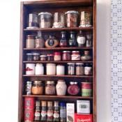 Scaffale Portaspezie da parete – Fai da te
